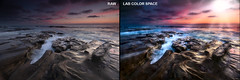Before/After - La Jolla, California (Pat Kavanagh) Tags: comparison beforeafter lajolla california labcolorspace