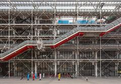 Centre Pompidou III (Jack Landau) Tags: centre pompidou architecture postmodern structure building renzo piano richard rogers paris france europe eu canon 5d jack landau