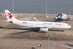 """CHINA EASTERN A330-243 B-5942 """"60th Anniversary"""" 0011 (A.S. Kevin N.V.M.M. Chung) Tags: aviation aircraft aeroplane airport airlines airbus plane spotting macauinternationalairport mfm taxiway a330200 a330 chinaeastern speciallivery"""