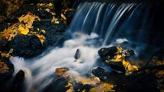 Flow (Jim Nix / Nomadic Pursuits) Tags: jim nomadicpursuits austin texas waterfall creek stream fall nature luminar skylum