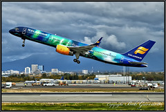 """TF-FIU Icelandair  """"Aurora"""" (Bob Garrard) Tags: tffiu icelandair aurora boeing 757 anc panc"""