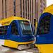 Metro Green Line Light Rail Train, Downtown Minneapolis