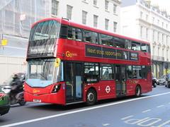 Go Ahead London WSD21 (Teek the bus enthusiast) Tags: victoria putney bridge route 36 507 london buses go ahead abellio metroline tower transit national express