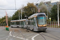 2018-10-26, Bruxelles, Dépôt Haren (Fototak) Tags: tram strassenbahn t2000 bruxelles belgium stib mivb dépannage 2045 2037