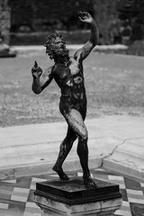 Dancing Faunus (tamnitok) Tags: statue sculpture pompeii italy art history culture excavation object handcraft light shadow contrast monochrome greyscale blackandwhite