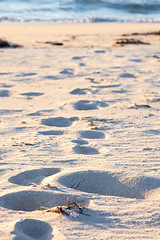 Footsteps (.Stephen..Brennan.) Tags: beach da70 pentax pentaxk3 seascape trigg 70mm
