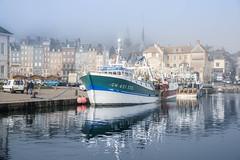 Morning haze (Sizun Eye) Tags: honfleur harbor old architecture boat fishing town haze morning sizuneye travel tourist voyage visit normandie norandy france nikond750 tamron2470mm