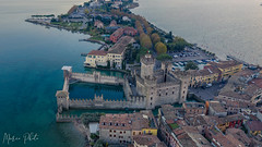 sirmione (marco_brst) Tags: castle landscape lake lagodigarda italy drone amazing panorama beautiful