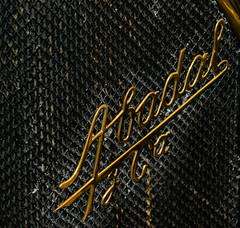 Abadal Grille (Michael Gaylard) Tags: portugal caramulo motor museum classic cars vehicles abadal grille