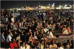 India Travel Photography: Aarti Ceremony, Nada Sadhus & burning Ghats at Varanasi 2019 Benares.017 by Hans Hendriksen (Travel Photography - Reisfotografie) Tags: india travel photography uttar pradesh north noord crowd reisfotografie reisfoto varanasi cremation ghat ghats benares banāras kashi kasi 2019 bad baden bath snan bathing people planet naked naakt naga sadhu saddhu baba nackt hindu hindus hindoe hindoes ganga gangus ganges river rivier march holy heilig sacred ceremony ceremonie religion religie nude dahues babas pelgrims pilgrimage pilgrims bedevaart menigte hindúes sagrado río aarti fire vuurceremonie burning manikarni manikarnika dead reincarnation reincarnatie afterlife