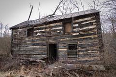 Lost Cabin (robvaughnphoto.com) Tags: cabin abandoned rural explore logcabin ohio