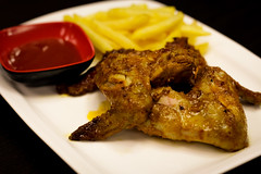 Obviously, everyone's different, but I love just settling down and having a barbecue with my family at my house. (shadman fotografia) Tags: bbq barbecuechicken bbqchicken chicken foodphotography foodporn foodie food foodography fooddiaries foodlover foodblogers shadman shadmanfotografia shadmanfotografiacom fries sauce macro nofilter delicious dhaka bangladesh canon eos 700d canon700d canont5i t5i 50mmstm 50mm dof