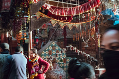 Chi Bahaa Nani (danielhibell) Tags: kathmandu nepal travel asia discover explore world street streetphotography people religion culture ambience mood buddhism hinduism colour light praying moving special