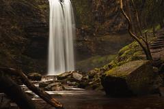 *** (Lee|Ratters) Tags: sony a7 voigtlander cv40 f12 brecon beacons waterfall henrhyd fall forest moss dark moody batman knight