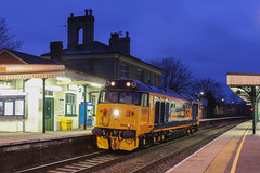 50049 | Romsey 0R45 (George Browning) Tags: class50 gbrailfreight romsey night train railways
