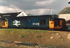 BR Class 37/4 37419 - Wick (dwb transport photos) Tags: british railways tractor locomotive 37419 wick