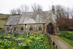 Church of St. Margaret, Wythop Mill, Cumbria, UK (tosh123) Tags: church building arch architecture cumbria flowers wythopmill graves graveyard