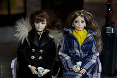 Barbie The Look Sweat Tea and Happy Hipster dolls (alenamorimo) Tags: barbie barbiedoll dolls christmas holidays dollcollector barbiethelook