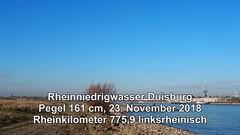 775,9 l Rheinniedrigwasser Duisburg 2018 Video (Rhein 2015) Tags: rheinkilometer 775 duisburg rheinhausen niederrhein ruhrgebiet nordrheinwestfalen northrhinewestphalia rhénaniedunordwestphalie noordrijnlandwestfalen nordrenowestfalia renaniadelnortewestfalia deutschland germany allemagne duitsland germania alemania rhein rhine rhin rijn reno rin