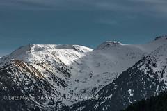 Madriu-Perafita-Claror nature region. Andorra la Vella parroquia mountain landscape: Altitude 2000+ collection. View from La Massana, Vall d'Orient, Andorra (lutzmeyer) Tags: 300mm andorra andorralavellaparroquia campdeclarorclaror canoneos5dmarkiii europe gebirge iberia iberianpeninsula lamassanaparroquia lutzmeyer madriuperafitaclaror pal pirineos pirineus pratprimercomarcaclaror pyrenees pyrenäen vallnord afternoon altitude2000collection berge bild december desembre dezember diciembre foto fotografie gebirgszug hivern iberischehalbinsel image imagen imatge invierno landscape landschaft lutzlutzmeyercom montana montanas mountains muntanyes nachmittag neu paisaje paisatge parroquia photo photography picture postadelsol puestadelsol rural schnee snow sonnenuntergang sundown sunset tal tele valley village winter lamassanavallnord