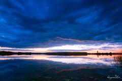 Jēkabpils (kasparssilins) Tags: hdr canon 7d tamron landscape lake water sky blue magenta summer 2015 trees river beach night sunrise sunset high dynamic range raw