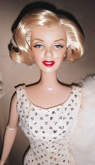 2001 Marilyn Monroe Doll (6) (Paul BarbieTemptation) Tags: 2001 timeless treasures collector edition marilyn monroe barbie doll happy birthday mr president