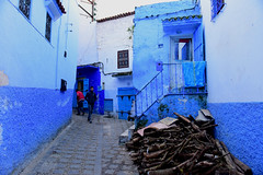 Chefchaouen, Morocco, January 2019 D810 731 (tango-) Tags: chefchaouen bluecity villaggioblu bluevillage morocco maroc 摩洛哥 marruecos марокко المغرب