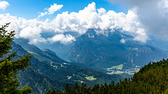 Fotoreise Berchtesgadener Land (Foto-Wandern.com) Tags: königssee deutschland berchtesgadenerland kehlstein himmel wolken landschaft bayern natur mannlsteig germany tourismus cloud clouds nature tourism fotoreise fotokurs fotowandern fotowanderncom blue landscape mountains alps kehlsteinhaus eagles nest hiking watzmann