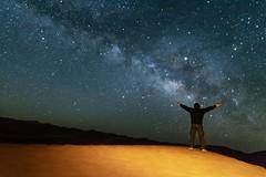 Vía láctea en el Sahara (jlmontes) Tags: milkyway stars merzouga astronomia cosmos morocco desert nocturna desierto galaxia galaxy universe universo estrellas night noche longexposure largaexposicion samyang14mm nikond7100 marruecos sahara víalactea