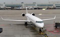 EI-GEB Air Nostrum Bombardier CRJ-900 on stand BRU 150319 (kitmasterbloke) Tags: brussels zaventem bru ebbr aircraft aviation jet belgium outdoor transport