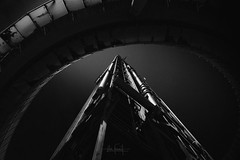 No smoking (Rui Ferreira BW) Tags: black bw white wide shadows light fineart architecture canon