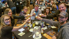Group Cheers (Bracus Triticum) Tags: group cheers people red deer レッドディア アルバータ州 alberta canada カナダ 11月 十一月 霜月 jūichigatsu shimotsuki frostmonth autumn fall 平成30年 2018 november