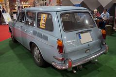 1965 VW 1600 Variant Heck (Joachim_Hofmann) Tags: auto fahrzeug kraftfahrzeug vw volkswagen typ3 1600 variant kombi heckmotor unterflurmotor kfz