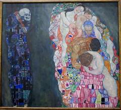 Vienna, Gustav Klimt collection in Leopold Museum (Sokleine) Tags: tod life death leben klimt gustavklimt tableau painting peinture secession museum musée leopoldmuseum wien vienna vienne österreich austria autriche europe eu art culture heritage