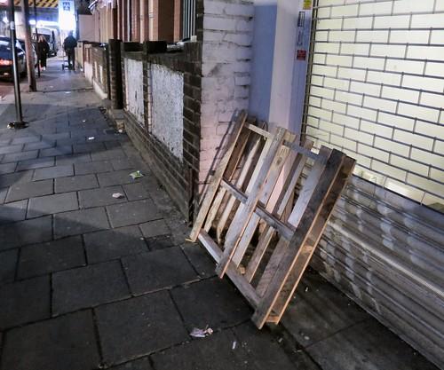 Dumped Wooden Pallet in St Loys Road N17