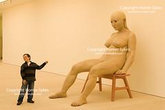 SAATCHI GALLERY CHELSEA LONDON ENGLAND UK (Homer Sykes) Tags: saatchigallery chelsea interior artgallery art chineseart britain england uk british english travelstockuk londonstock 2008 2000s modernart london gbr