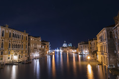 Grand Canal - Venice (jack.mihlenstedt) Tags: venice italia italy grand canal nikon nikond750 night astrophotography city cityscape longexposure nightphotography twilight bluehour tamron2470mm tamron tamron2470 wideangle water river europe veneto