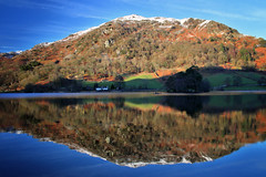 Winter Grasmere Series (PJ Swan) Tags: rydal water lake district grasmere cumbria england great britain united kingdom national park unesco snow cold outdoors frosty winter wintry reflections fells mountains