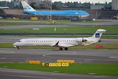 SAS Scandinavian Airline System EC-JZV Bombardier CRJ-900LR (CL-600-2D24) cn/15117 opby Air Nostrum 28 May 2017 - 30 Oct 2017 @ EHAM / AMS 09-09-2017 (Nabil Molinari Photography) Tags: sas scandinavian airline system ecjzv bombardier crj900lr cl6002d24 cn15117 opby air nostrum 28 may 2017 30 oct eham ams 09092017