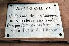 FOSSAR DE LES MORERES (Yeagov_Cat) Tags: 2019 barcelona catalunya 1714 albertvilaplana fossardelesmoreres