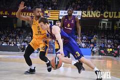 DSC_0327 (VAVEL España (www.vavel.com)) Tags: fcb barcelona barça basket baloncesto canasta palau blaugrana euroliga granca amarillo azulgrana canarias culé