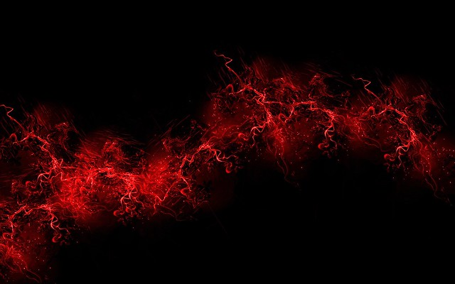 Обои черный фон, красный, цвет, краска, взрыв, всплеск картинки на рабочий стол, фото скачать бесплатно