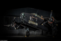 Night Raider (Articdriver) Tags: handleypage halifax bomber bombercommand royalairforce raf fridaythe13th lv907 night aircraft yorkshire yorkshireairmuseum elvington hanger