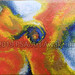 ''Layers/Galaxy on Fire'' by E Losier, acrylic, $20.00