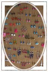 Ear-rings a plenty (Audrey A Jackson) Tags: canon60d cadiz spain earrings colour fashion shop