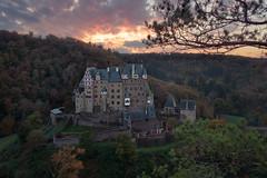Castle Eltz | Germany (wiscmic) Tags: autumn burg burgeltz castle château deutschland eifel germany herbst schloss sonnenuntergang sunset historisch