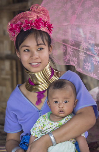 A Hill Tribe Resident - Chiang Mai, Thailand