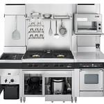 業務用厨房機器の写真