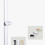 収納棚設置用 棚柱ユニットの写真