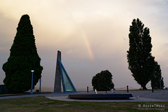 20190104-03-Rainbow (Roger T Wong) Tags: 2019 australia cemotaph domain hobart rogertwong sel24105g sony24105 sonya7iii sonyalpha7iii sonyfe24105mmf4goss sonyilce7m3 tasmania clouds sunset